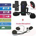 Frete Grátis! Marca COLO-RC FDC Moto Intercomunicador Bluetooth + Fone de Ouvido + Microfone Clipe Bracket