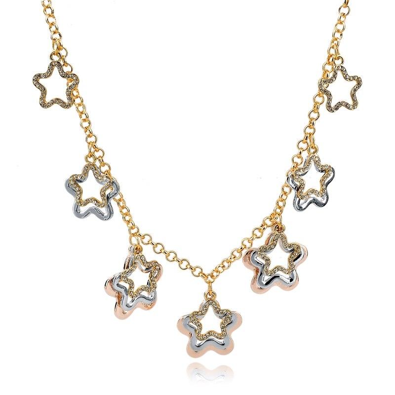 Fashion Crystal Full strass tour de cou pour femmes Bijoux court Colliers Collier