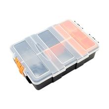 Пластиковые детали коробки упаковочные инструменты приманки аппаратные средства фитинги матовый пластиковый винт получить чехол
