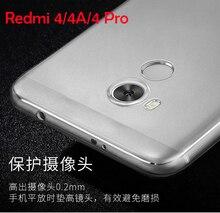 For Xiaomi Redmi 4 4A 4 Pro Cover Ultrathin Transparent Soft Clear TPU Cover Fundas For Xiaomi Redmi 4 4 Pro Snapdragon 625 430