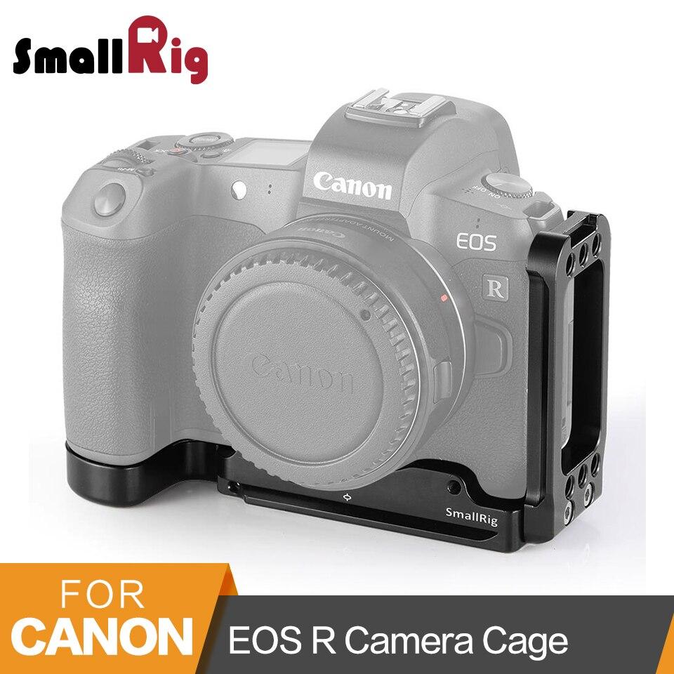 Petite plaque de support en L pour appareil photo Canon EOS R à dégagement rapide arca-swiss Standard plaque de montage en L plaque latérale et plaque de base-2257