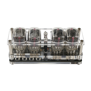 Image 3 - GHXAMP IN 12 Glow Tube 4 digit Clock Colorful LED Backlight DS3231 Nixie Clock IN 12B DC5V USB Electronic DIY