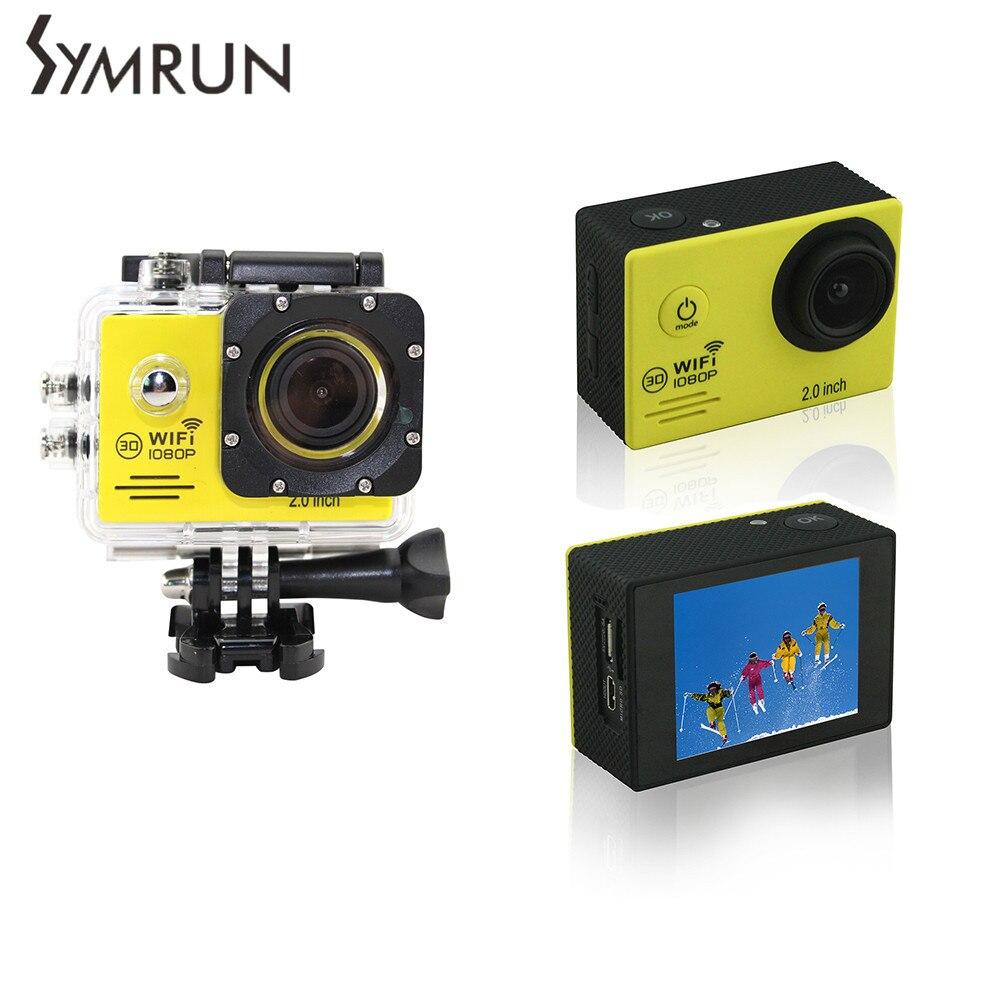 ФОТО Original Symrun SJ4000 Wifi 2.0 Lcd Sport Action Camera Full Hd1080P Waterproof Digital Camera Professional Video Camera