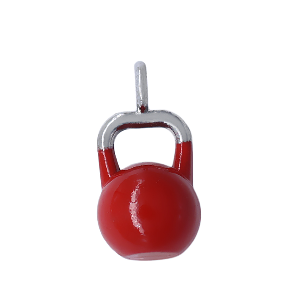 Zinc alloy plating spray paint a variety of colors kettlebell fitness pendants DIY .