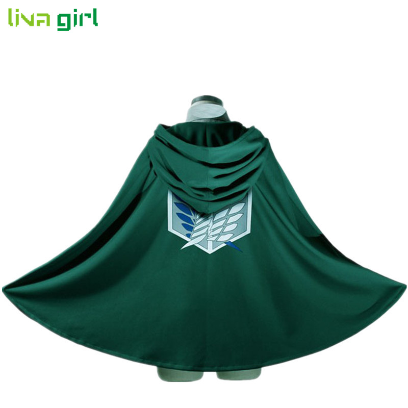 Novelty Anime Shingeki no Kyojin Cloak Cape Clothes Unisex Coser Cloak Cartoon Costumes Cosplay Attack on Titan Oversize Dec5