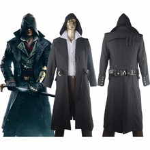 Frye Overcoat Hoodie Trench Coat Halloween Carnival Comic-con Cosplay Costume