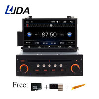 LJDA 1 Din 7 Inch Android 6 0 Car DVD Player For Citroen C5 Auto Radio