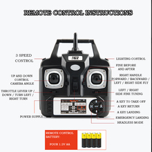 5MP HD Camera FPV Live Drone with 6 Axis Gyro & Smart Altitude Hold