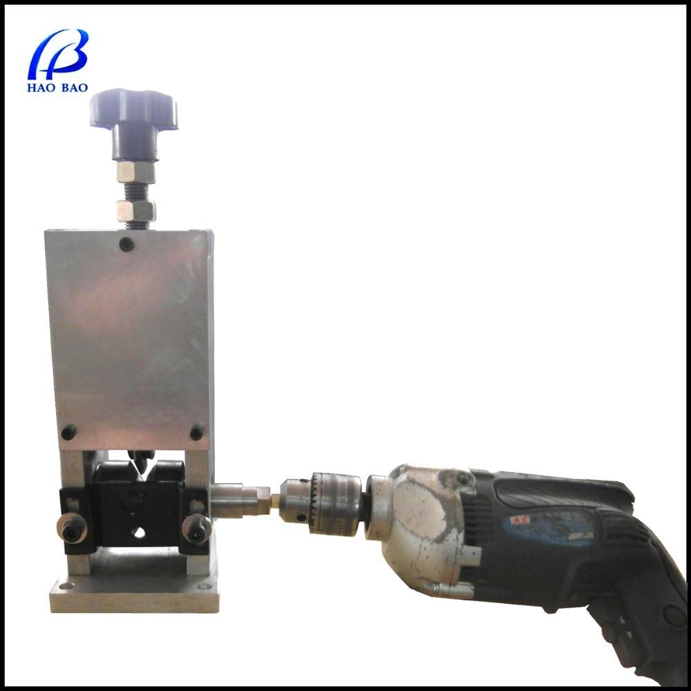 HW 25 Benchtop Copper Wire Peeling Machine Drill/Handle