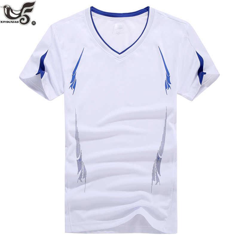 e43970a5f ... XIYOUNIAO плюс размер M ~ 7XL 8XL 9XL обтягивающая мужская кофта с  коротким рукавом футболка сплошной