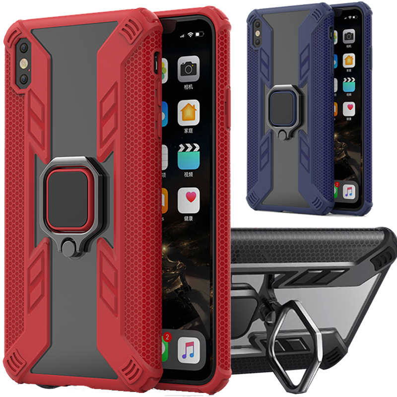 Бронированный чехол для Apple iPhone XS XR 10 X R MAX iphne XMAX XSMAX 10R 10S Adsorption Kickstand Cover Aphone RX SX Fundas
