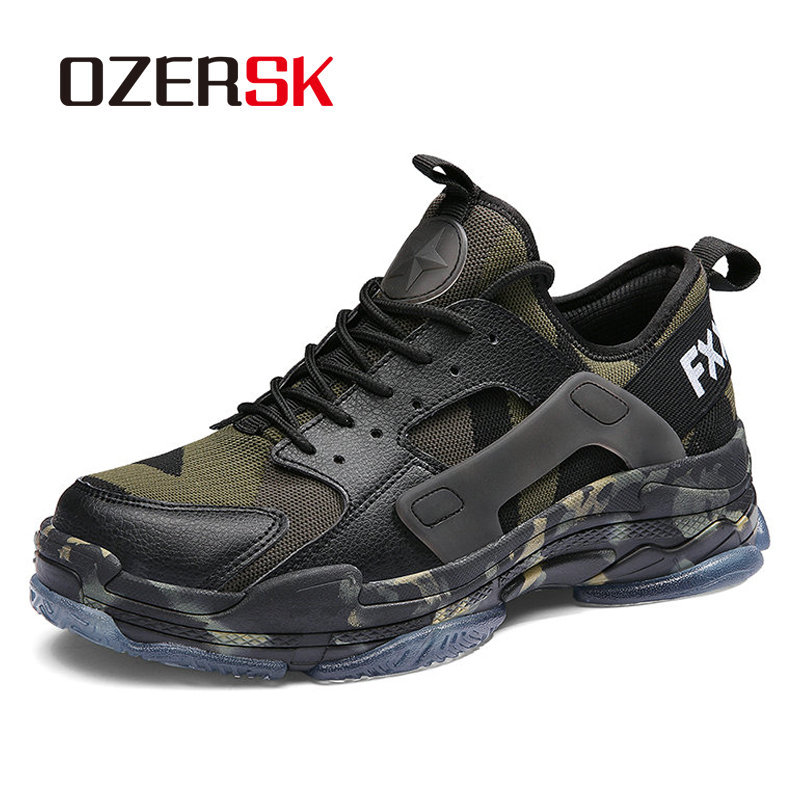 OZERSK Shoes Men Sneakers 2019 Spring Summer Trainers Baskets Breathable