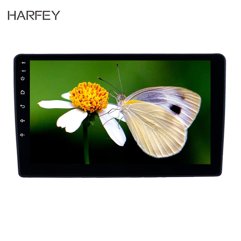 Harfey 9 pouces 2 din Android 8.1 GPS autoradio pour Peugeot 307 2001-2008 WIFI HD écran tactile support caméra de recul Carplay