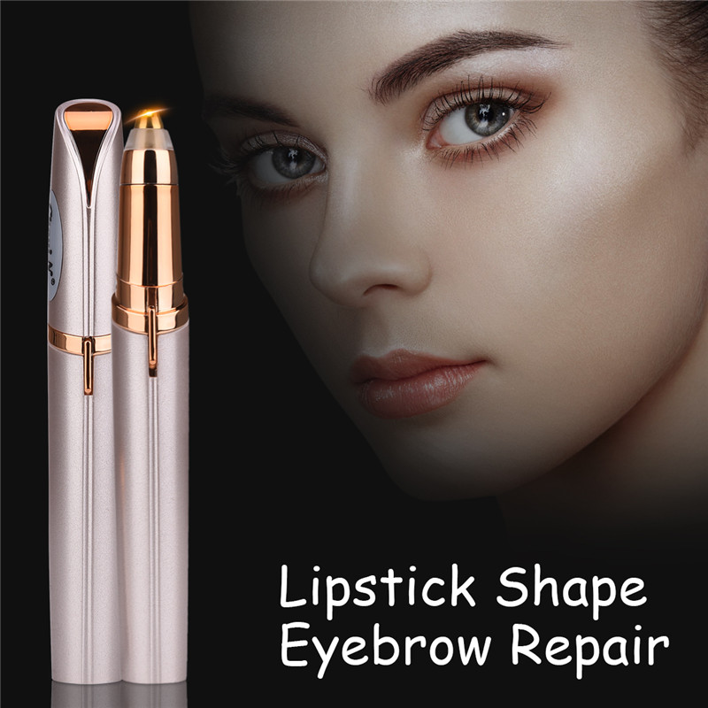 Mini Electric Eyebrow Trimmer Lady Eyebrow Razor Brow Shaving Pen No Pain Personal Brow Shaper Women Face Care Beauty Tool 31