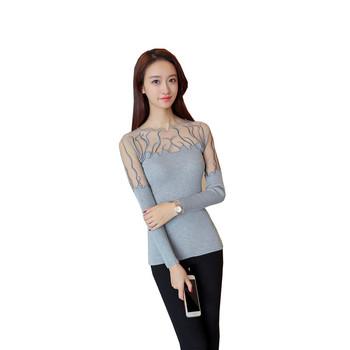 5814 prawdziwy zastrzyk 2020 koreańskiej wersji jesień nowa koronkowa długa koszula 33 kobiet bluzy wąskie swetry czarny sweter wąska obcisła topy tanie i dobre opinie OHCLOTHING see chart COTTON STANDARD WOMEN Komputery dzianiny Pełna Stałe Pojedyncze piersi Szalik kołnierz Wzruszenie ramion