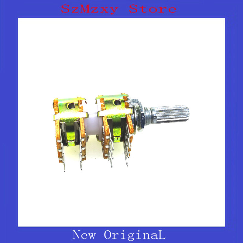 1PCS Taiwan WH-148 16 Audio Volume Four Potentiometers 12pin B50K B100K
