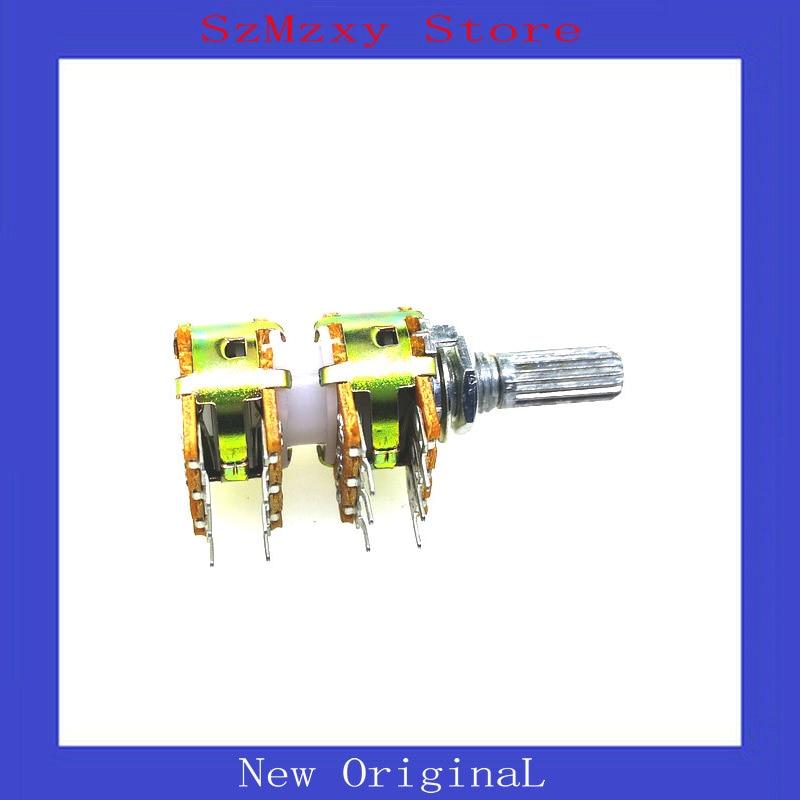 1PCS Taiwan WH-148 16 Audio Volume Four Potentiometers 12pin B50K B100K