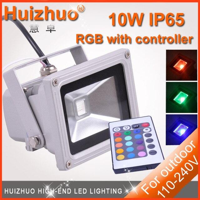 [Huizhuo Lighting]LED Flood Light 10W/20W/30W/50W/70w/100W Warm White/White/RGB LED Floodlight Outdoor Lighting