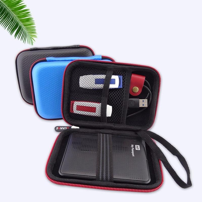 2.5-inch Seagate HDD hard disk protection bag mobile power bank U disk case External Hard Drive HDD bag GH1520