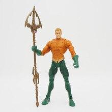 JUSTICE LEAGUE UNLIMITED Universo DC AQUAMAN Super Hero Figuras de Ação Brinquedos