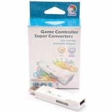 ברוק סופר ממיר מתאם עבור PS3 כדי PS4 USB בקר מתאם להשתמש Wired/אלחוטי Gamepad G27/G29 מירוץ גלגלים על PS4