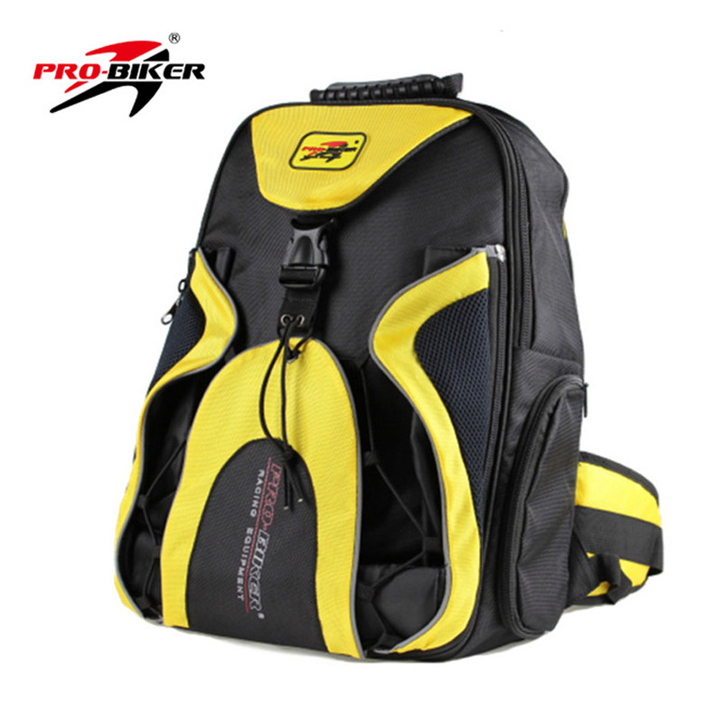 Motorcycle Riding Helmet Bag Waterproof High Capacity Backpack Multifunction Travel Luggage Handbag Tool Bag in Carrier Systems from Automobiles Motorcycles