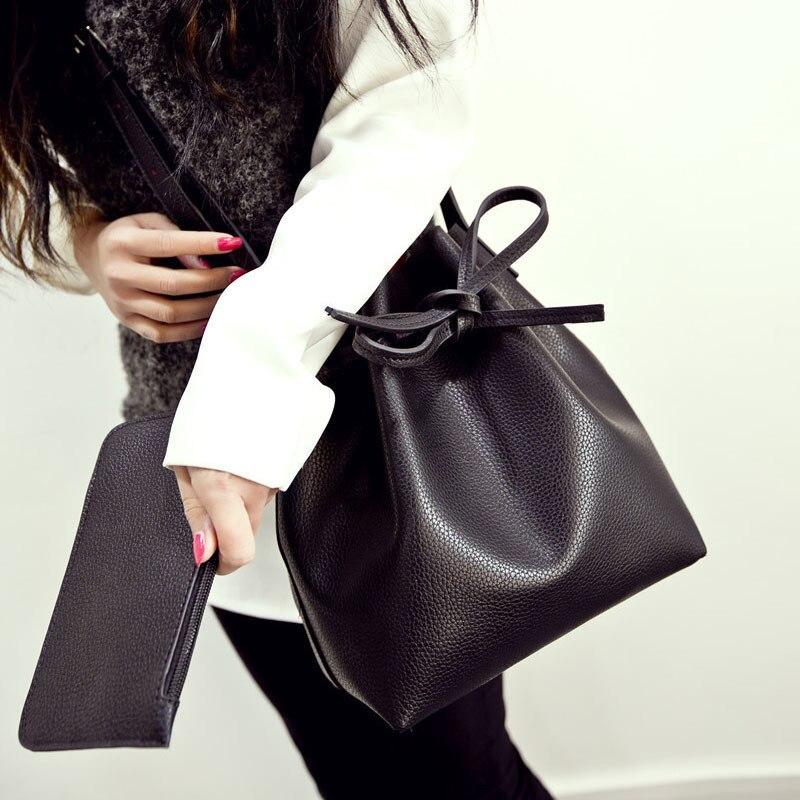 Free Limited Solid Bag Single Interior Slot Pocket Cell Phone Pocket Shipping 2016 New Fall Handbags