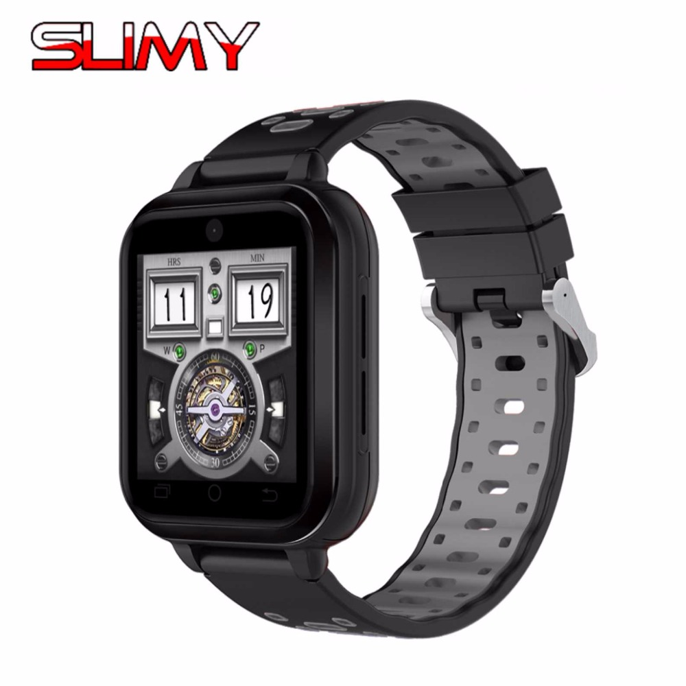 Slimy Q1 Pro 4G Smart Watch Android 6.0 IP67 Waterproof MTK6737 Quad Core 1GB 8GB Smartwatch Phone Support Heart Rate Sim Card 4g gps android 6 0 smart watch m5 mtk6737 heart rate monitor support sim card camera business smartwatch for men women 2018 gift