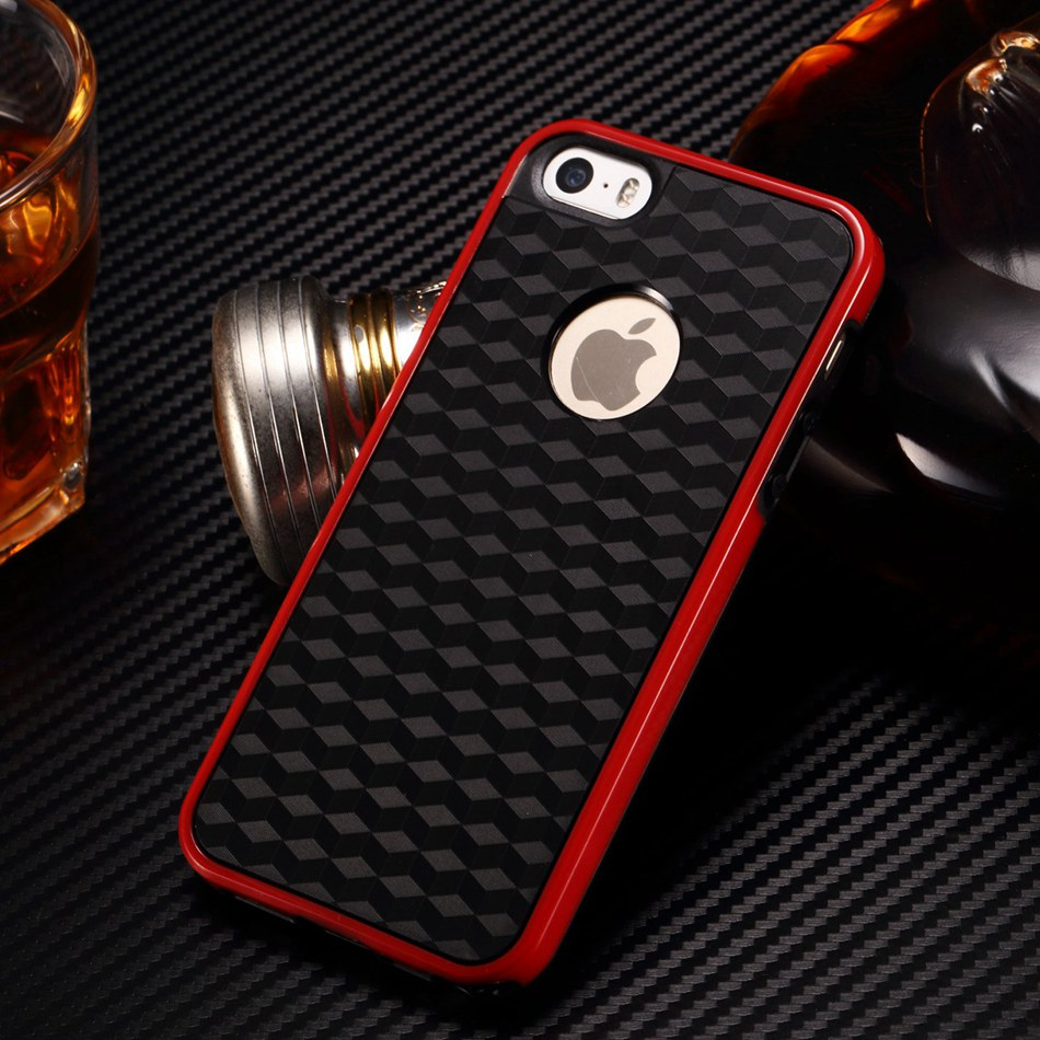 Dual Color Black Soft TPU Case...