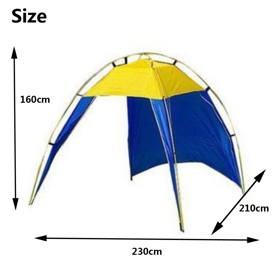 High quality 3 4 Persons Triangle Beach Tent Picnic tents Ultralight Canopy UV Sun Shade Shelter tourist tent Outdoor C&ing-in Tents from Sports ...  sc 1 st  AliExpress.com & High quality 3 4 Persons Triangle Beach Tent Picnic tents ...
