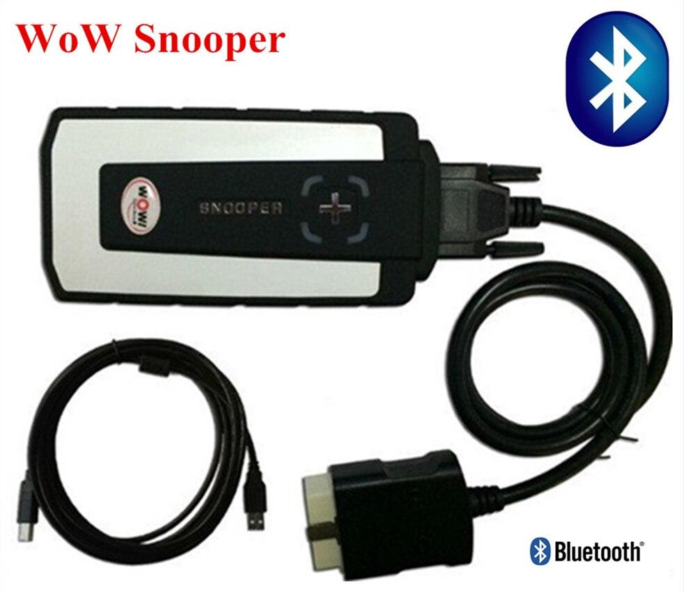 Лидер продаж! Wow cdp snooper R5.008 Бесплатная keygen сканер для автомобили Грузовики OBD2 инструмента диагностики с bluetooth usb wow wurth программного обеспечен...