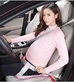 Безопасная накладка на сиденье для беременных женщин  защитный чехол на сиденье для автомобиля  синий  розовый цвет  аксессуары для салона а...