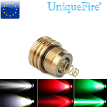 3 Mode LED Lamp Holder UniqueFire UF-1508 Flashlight CREE XRE White/Red/Green Light Led Bulb Operating Driver Led Drip In Pill