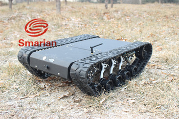 Official smarian Crawler robot chassis, suspension crawler robot chassisDiy Tracked Diy Tracked Crawler Caterpillar Track RC Toy фото
