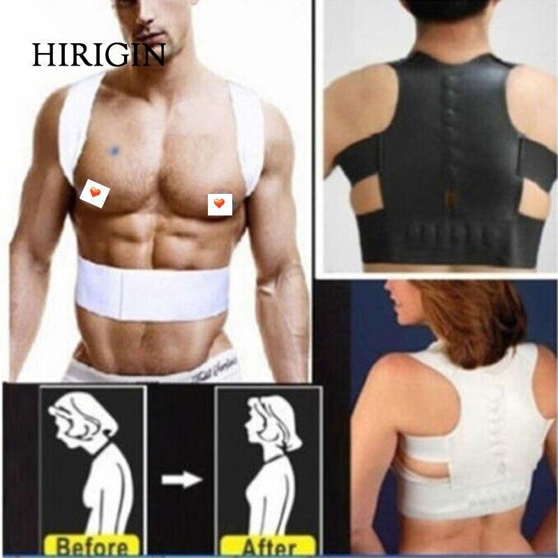 Magnetic Neoprene Corset Belt For Back Brace Posture Corrector Straightener Shoulder For Thoracic Relieves Back Pain