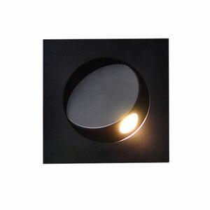 Image 4 - Apextech Recessed 3W 크리 어 LED 침대 옆 독서 벽 램프 현대 노르딕 스타일 침실 야간 조명 빔 각도 자유롭게 조절 가능