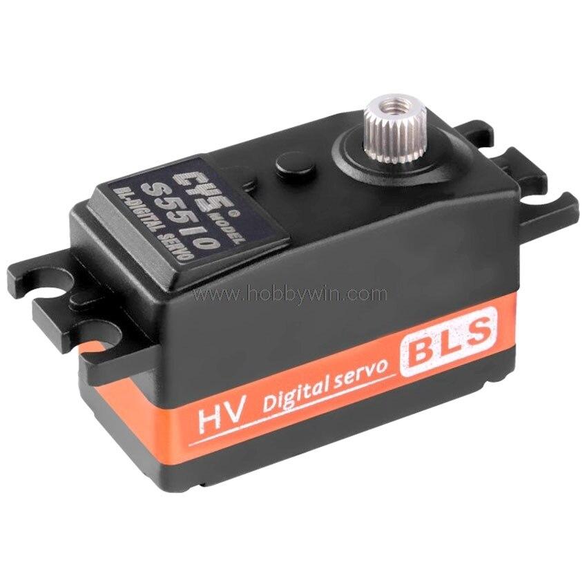 CYS-BLS5510 sans brosse moteur 4.5 kg engrenage en métal numérique Servo JR prise 30 cm câble pour RC modèle véhicule avion