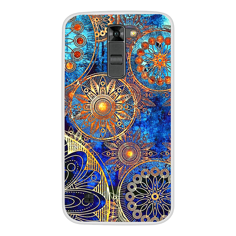 Image 4 - Soft Silicone Cover TPU Case for LG K7/Tribute 5 LS675/X210 X210DS Phone Case Soft Silicone Back Cover Case For LG K7 K 7 Cover-in Fitted Cases from Cellphones & Telecommunications