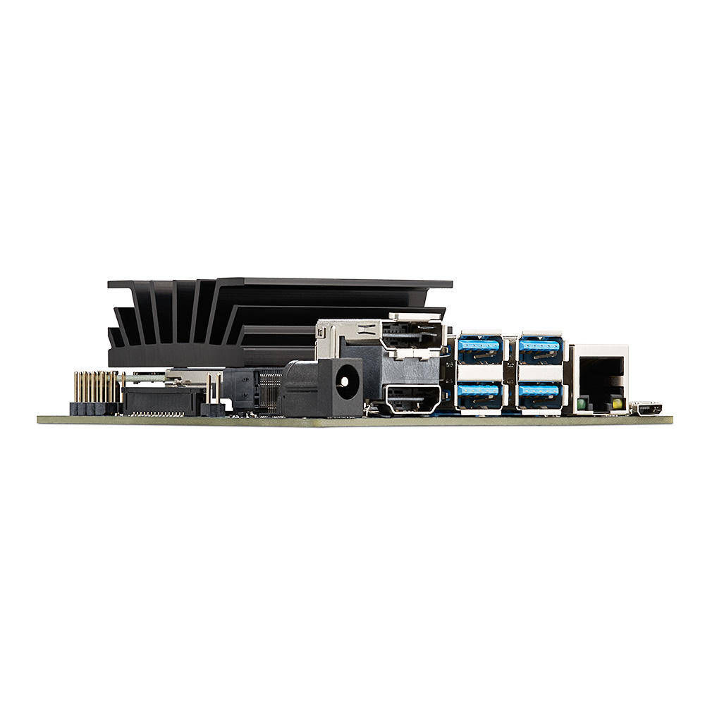 NVIDIA Jetson Nano Developer Kit per Artiticial di Intelligenza Apprendimento Profonda AI Computing, Supporto PyTorch, TensorFlow Jetbot - 5