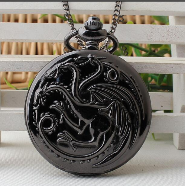 UNIVERSE 20pc Game Of Thrones Pocket Watch Necklace