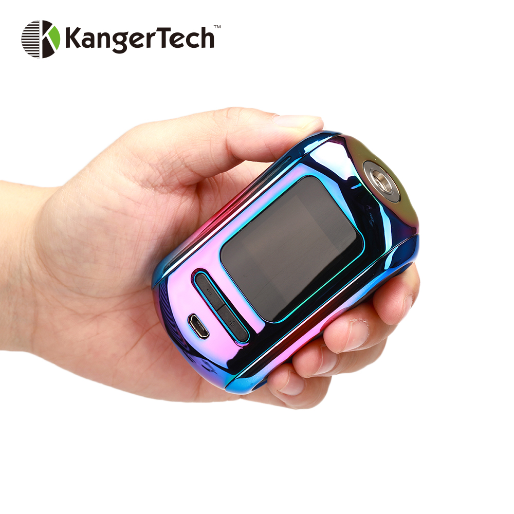 Original Kangertech Ranger 200W TC Box MOD Powered By Dual 18650 Battery Vape Box Mod Electronic Cigarette Vaporizer Vs Drag 2-in Electronic Cigarette Mods from Consumer Electronics    1