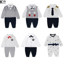 Baby overalls New cotton children / boys / girls / Baby clothing Long sleeves infant spring / summer / fall clothes цены онлайн