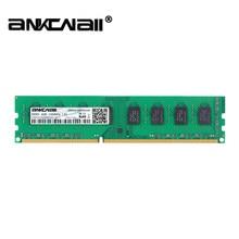 Ankowall ddr3 8 gb 4 gb memória 1600 mhz 1333 mhz 240pin 1.5 v desktop ram dimm