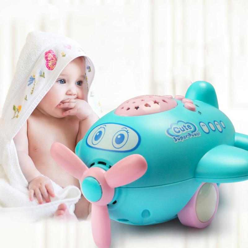 Baby-Music-Projector-Sleeping-Story-Projector-Light-Night-Lamp-Aircraft-Appease-Plane-Toy-Multifunction-Projectors-2