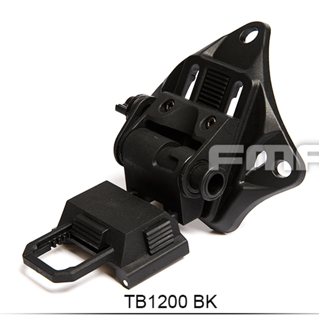 Outdoor Tactical Hunting L4G19 Helmet NVG Mount BK Plastic Version TB1200 Free Shipping