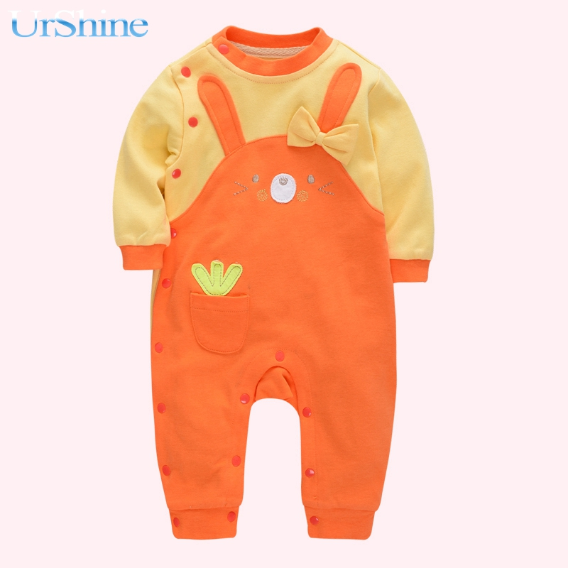 2018 Baby Rompers Newborn Cotton Baby Clothes Short Sleeve Girl Boy Clothes Girl Roupa Infantil Body Bebes Jumpsuit Cute Baby