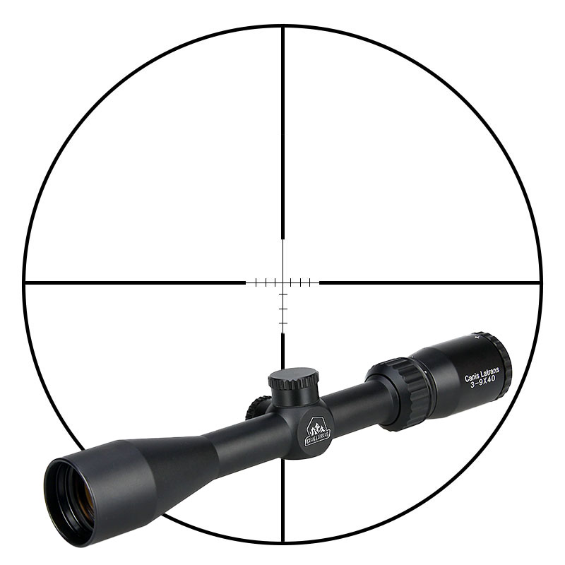 купить Canis Latrans Riflescope 3-9X40 Rifle Scope Optic Lens Hunting Scope 25.4mm Tube Dia. for Outdoor Shooting PP1-0304 по цене 3261.81 рублей
