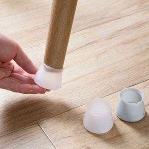 4 шт./лот, нескользящий Силиконовый коврик для ног на стол, защита ног, Защита ног, защита пола