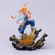 23cm Dragon Ball Figure Dragon Ball Z Vegito Action Figure Figuats ZERO Super Saiyan With Sword Toy japan anime dragon ball original megahouse dragon ball gals complete collection figure lunch black hair ver