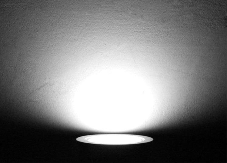 Downlights cob teto spot light 3 Material : Alumínio